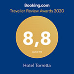 Booking.com Traveller Review Awards - Hotel Torretta Residence
